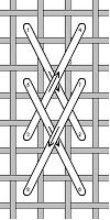 Rittenhouse Needlepoint: Stitch of the Week: Van Dyke
