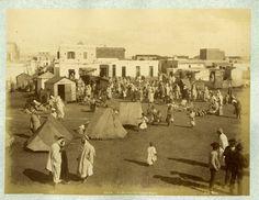 ND. Phot. Algérie, Oran, Le Marché du Village Nègre     #Afrique_Africa #Algérie
