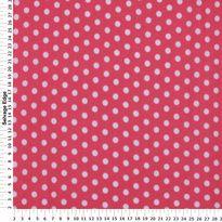 Fashion Knits - Dots on Pink Jersey Cotton Fabric