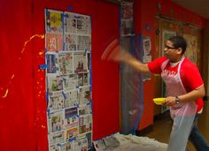 Murals made by high school students - art for everyone