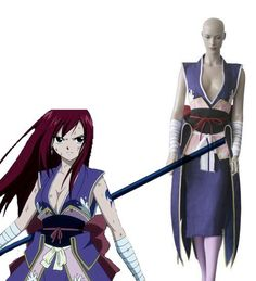 Fairy Tail Titania Erza Cosplay Costume Probably going to choose this one hihiii