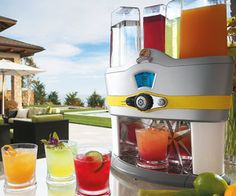 This innovative drink machine can make up to 48 cocktails with a single touch of a button.. YES PLEASE!!