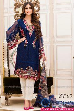 Veena Durrani ZT-03 Kurti 2017 Volume 5 #veenadurrani #veenadurranivol5 #veenadurrani2017 #womenfashion's #bridal #pakistanibridalwear #brideldresses #womendresses #womenfashion #womenclothes #ladiesfashion #indianfashion #ladiesclothes #fashion #style #fashion2017 #style2017 #pakistanifashion #pakistanfashion #pakistan Whatsapp:+923452355358 Website: www.original.pk