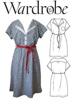 Dorit shirt dress , PDF sewing pattern. Easy to wear, easy to sew. - pinned by pin4etsy.com