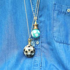 DIY Easy Cabinet Knob Necklace