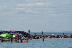 high tide at Corporation Beach, Cape Cod