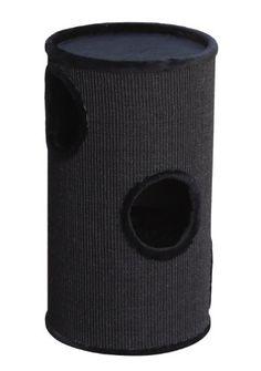 Nobby-63004-04-Dasha-II-Cat-Scratching-Post-Black