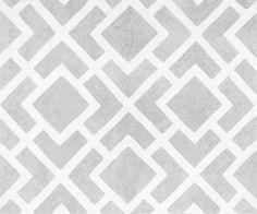 Diamond Gray/White Area Rug