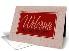 2 sold to customer in Wisconsin, United States #Welcome to the #team #card (188084)