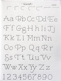 In & Out of Studio hand lettering drawing Hand Lettering Alphabet, Doodle Lettering, Creative Lettering, Calligraphy Alphabet, Calligraphy Fonts, Handwriting Fonts Alphabet, Cute Fonts Alphabet, Doodle Fonts, Hand Lettering Styles