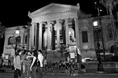 ritrovo per i ragazzi, Teatro Massimo, Palermo.