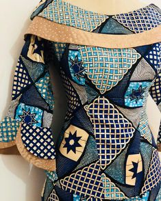 African Fashion Ankara, Latest African Fashion Dresses, African Dresses For Women, African Wear, Ankara Blouse, Ankara Dress Styles, Ankara Gowns, African Blouses, Dress Neck Designs