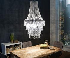 Dekorative Kristall Deckenleuchte Edda Kaufen   Pinterest   Ceiling, Lights  And House