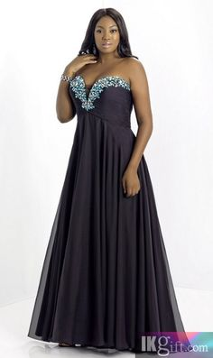 plus size prom dress