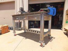 Welding Bench, Welding Cart, Welding Shop, Diy Welding, Metal Welding, Metal Projects, Welding Projects, Welding Ideas, Diy Projects