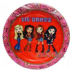 Lil' Bratz Small Paper Plates (8ct)
