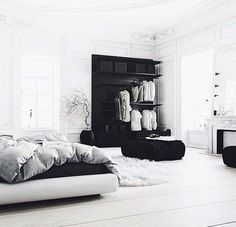 She danced all night.and all the way home. : Photo bedroom black She danced all night.and all the way home. Decoration Inspiration, Interior Inspiration, Bedroom Inspiration, Bedroom Inspo, Bedroom Decor, Master Bedroom, Bedroom Ideas, Design Bedroom, Bedroom Furniture