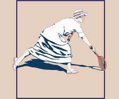 Super cool woman wearing vintage tennis attire Vintage Tennis, Classic Image, Flyer Template, Vintage Shops, Vintage Inspired, Cool Stuff, Woman, History, Tees