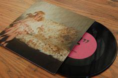 """CSS 7"""" Vinyl Cover by Sam Lane, via Behance"""