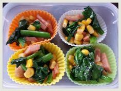 「お弁当の作り置き☆ほうれん草のソテー」彩り良く【楽天レシピ】