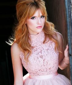 Bella Thorne models for Sherri Hill's prom collection