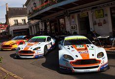 Aston Martin Racing at Hotel de France