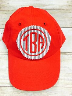 Monogrammed Ballcap are so cute and sporty! This hat comes in so many colors and fonts! I want one in every color!