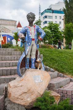 .Маленький Принц. Київ. Андріївський узвіз і Пейзажна алея