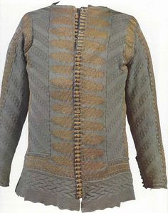 knitted jacket, 17th