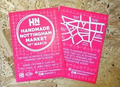 regram @hnmarkets The flyers have arrived! Designed by the awesome @fableandblack  #hnmarkets #Nottingham #shoplocal #buyhandmade #supportindependent #itsinnottingham #craftfair