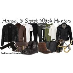 """""""Hansel and Gretel: Witch Hunters"""" by fofandoms on Polyvore"""