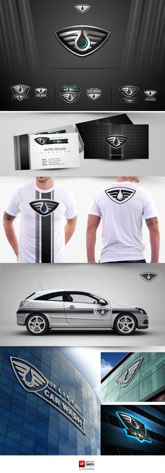 Car Wash Logo design by gatro*