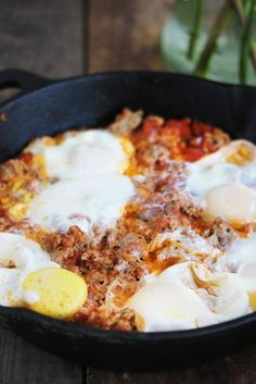 Three Ingredient Breakfast Skillet