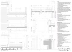 Detalles constructivos museo   A2j arquitectos
