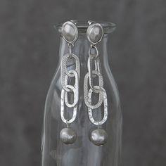 The Little Black Dress Boutique Limited. Tutti & Co Linked Drop Ear rings - EA57s