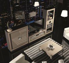Ambiente Salon Moderno Henry - Modern Living Room Henry