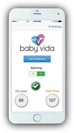 How Baby Vida Works | Baby Oxygen Monitor