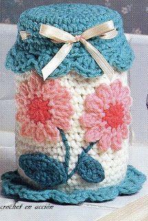 63 Ideas Crochet Flowers For Hats Free Pattern Gifts Crochet Flower Hat, Love Crochet, Crochet Gifts, Diy Crochet, Crochet Baby, Ravelry Crochet, Crochet Jar Covers, Crochet Mittens, Crochet Home Decor