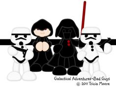 Galactical Adventures~Bad Guys    patterns are for sale http://www.littlescrapsofheavendesigns.com/item_457/Galactical-Adventures-Bad-Guys.htm