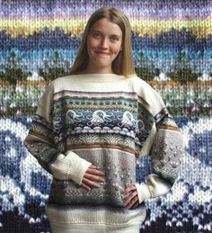 . . . Kaislakerttu Lehtovaara - Maalauksia . . .: Neuleet Fair Isle Knitting Patterns, Fair Isle Pattern, Knitting Designs, Fair Isle Chart, Darning, Men Sweater, Pullover, Wool, Sweaters