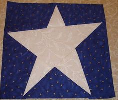 5 Pointed Star Patchwork Block Photo This Photo Was