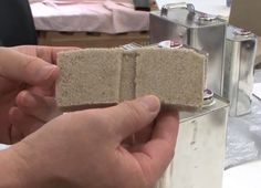 CO2 Sand Bricks are 2.5 times stronger than concrete