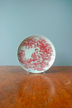 Vintage Wiinblad Nymolle Decorative Plate Shakespeare by luola