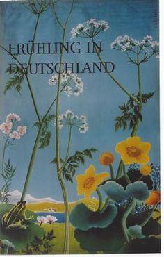 Original Vintage Poster Spring in Germany Flowers Blossom | eBay