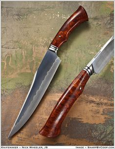 Nick Wheeler integral fighting knife.