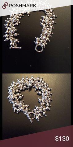 Silpada Bracelet Stunning Sterling Silver Silpada Ball Bead Cha Cha Bracelet. .925 SS Silpada Jewelry Bracelets