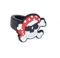 Pirate Ring for Kids | Bandana Skull & Crossbones