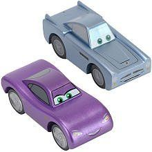 Disney Pixar's Cars 2 Wood Collection 2-Pack - Finn McMissile & Holley Shiftwell by toysrus. $19.60. Introducing the Disney Wood Collection of Cars! Collect all of your favorite characters from the Disney Pixar movie, Cars 2! This pack includes Finn McMissile & Holley Shiftwell. The vehicles are compatible with most wooden track sets join in the fun and start racing today. All new and only available at Toys'R'Us!