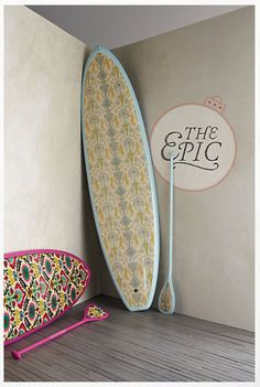 Paddle Boards from Anthropolgie...