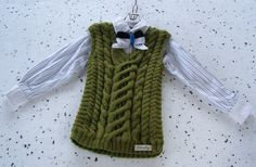 boys wool vest, boys green vest, green wool vest, Hand knit waistcoat, alpaca waistcoat, 3-5 years, knit boys clothing, gift for kids, alpaca wool knit, sleeveless cardigan, wool slip over, cable knit vest, echocraftings https://www.etsy.com/listing/473224828/boys-green-wool-vest-hand-knit-alpaca